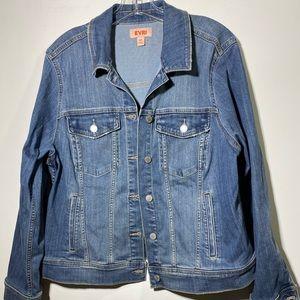 Evri Jean Jacket size 0X